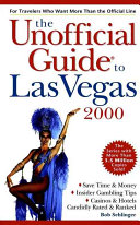 The Unofficial Guide  to Las Vegas 2000 Book