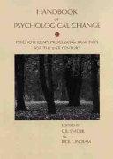 Handbook of Psychological Change