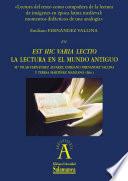 Lectura del texto como compañera de la lectura de imágenes en época latina medieval: momentos didácticos de una analogía