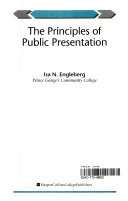 The Principles of Public Presentation