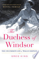 The Duchess Of Windsor Book