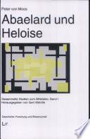Gesammelte Studien zum Mittelalter: Abaelard und Heloise