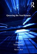 Queering the Non/Human Pdf/ePub eBook