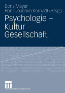 Mayer, Psychologie