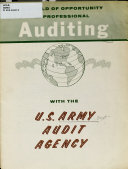 A World Of Opportunity In Professional Auditing With The U S Army Audit Agency