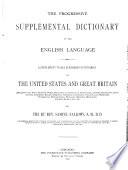 The Progressive Supplemental Dictionary of the English Language