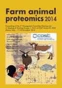 Farm animal proteomics 2014