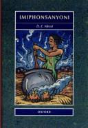 Books - Imiphonsanyoni | ISBN 9780195711073