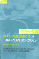 Self evaluation in European Schools