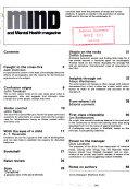 Mind and Mental Health Magazine