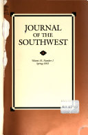 Journal of the Southwest