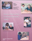 Montessori based Activities for Persons with Dementia Book