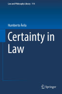 Certainty in Law