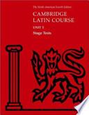 North American Cambridge Latin Course Unit 1 Stage Tests