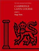 North American Cambridge Latin Course Unit 1 Stage Tests Book PDF
