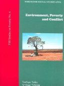 Environment  Poverty  and Conflict