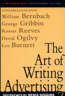 ART OF WRITING ADVERTISING