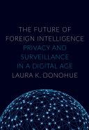The Future of Foreign Intelligence Pdf/ePub eBook