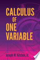 Calculus One Variable Calculus With An Introduction To Linear Algebra [Pdf/ePub] eBook