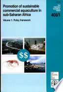 Promotion of Sustainable Commercial Aquaculture in Sub-Saharan Africa