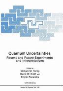 Quantum Uncertainties