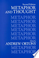 Metaphor and Thought by Andrew Ortony PDF