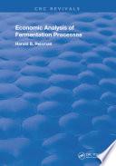 Economic Analysis of Fermentation Processes Book
