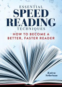 Essential Speed Reading Techniques Pdf/ePub eBook