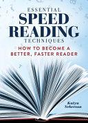 Essential Speed Reading Techniques Book