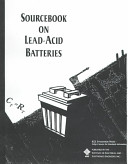 Sourcebook on Lead acid Batteries