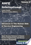 Advances In The Human Side Of Service Engineering Book PDF