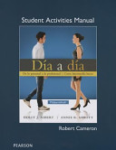 Student Activities Manual for Dia a Dia
