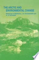 Arctic and Environmental Change