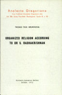 Organized Religion According to Dr. S. Radhakrishnan