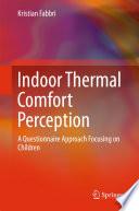 Indoor Thermal Comfort Perception