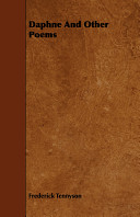 Frederick Tennyson Books, Frederick Tennyson poetry book
