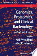 Genomics Proteomics And Clinical Bacteriology Book PDF