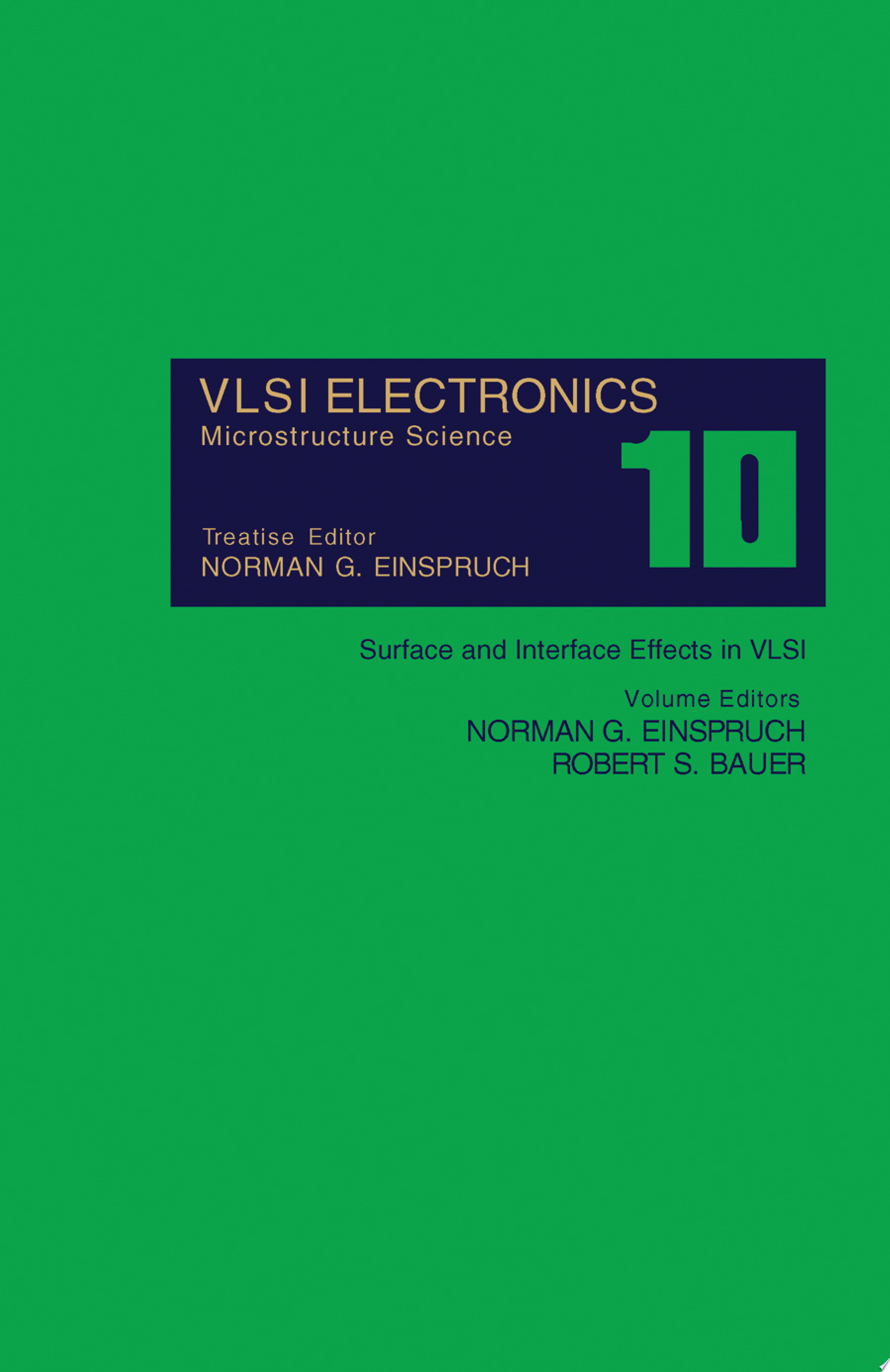 Surface and Interface Effects in VLSI