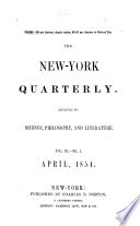 The New-York Quarterly