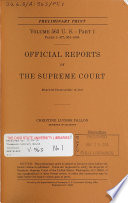 Official Reports of the Supreme Court