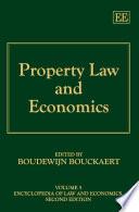 Property Law And Economics
