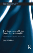 The Governance of Urban Green Spaces in the EU