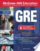 Mcgraw Hill Education Gre 2020