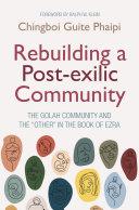 Rebuilding a Post exilic Community