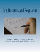 Law  Business and Regulation Book