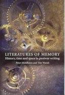 Literatures of Memory
