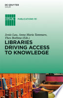Libraries Driving Access to Knowledge Book