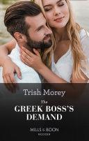 The Greek Boss's Demand (Mills & Boon Modern) (The Greek Tycoons, Book 12)