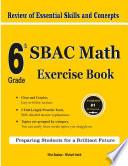6th Grade SBAC Math Exercise Book