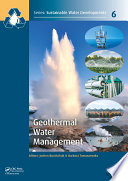 Geothermal Water Management
